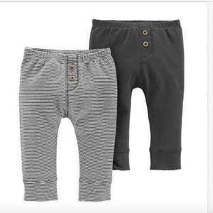 Carter's NWOT Baby Boy Carter's 2-Pack Pants 9mo